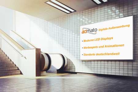 LED Videoboard U-Bahn