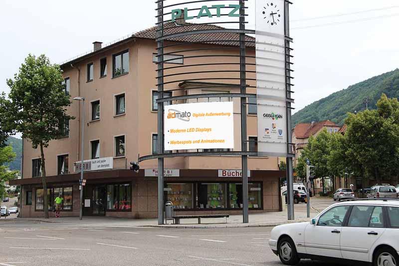 LED Display in Geislingen/Sternplatz