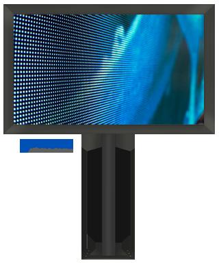 LED-Videowand/Werbeanlage