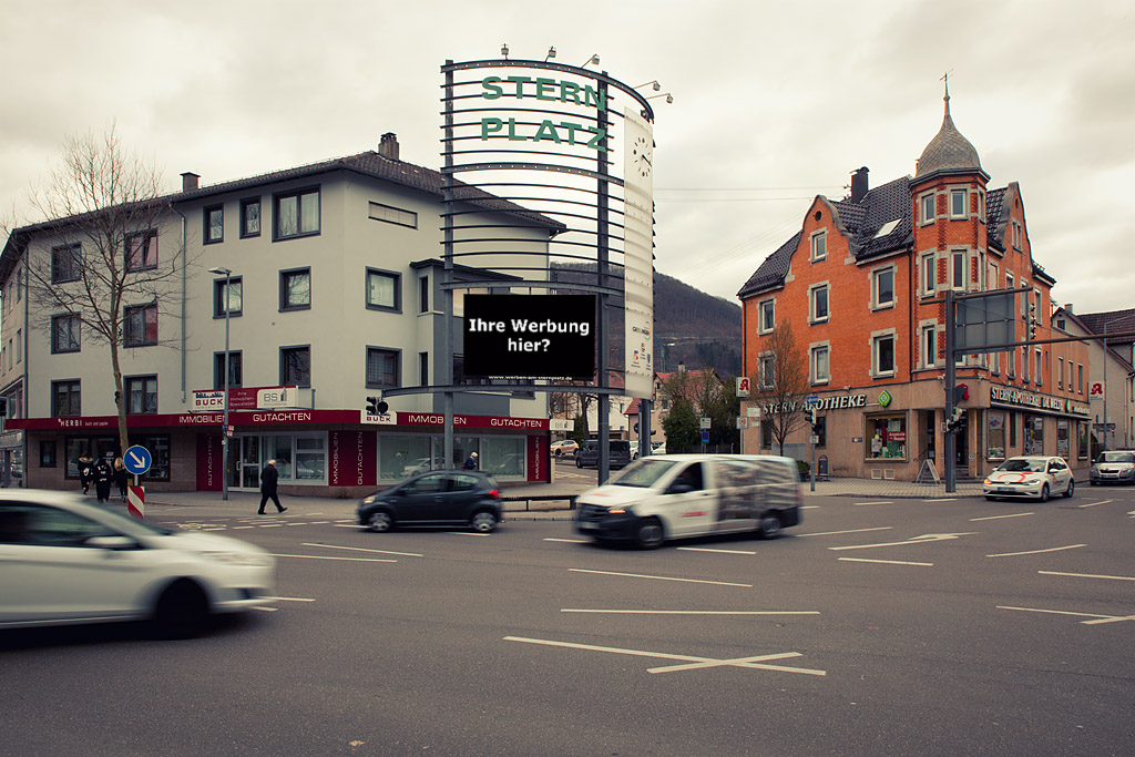 LED Display in Geislingen/Sternplatz