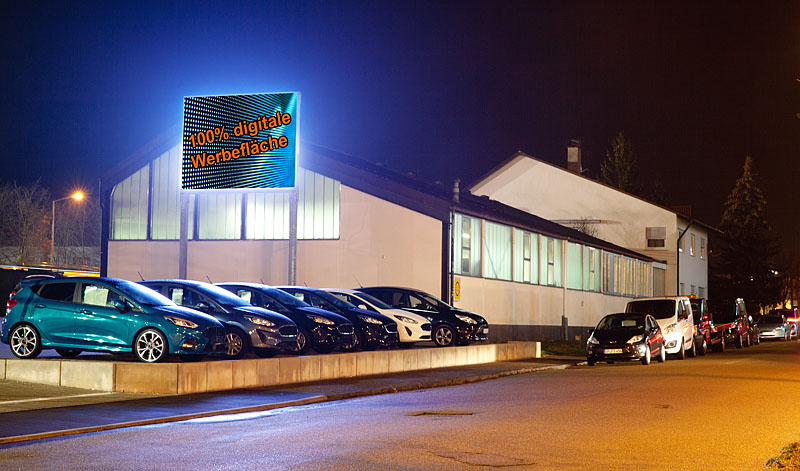 LED Display in Donzdorf
