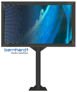 LED-Board freistehend