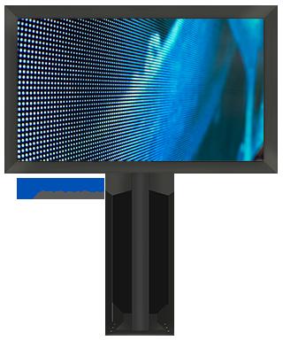 LED-Videowand/Werbefläche