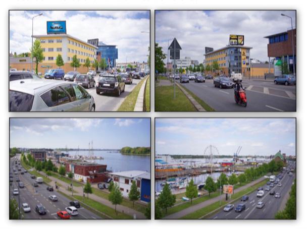 LED-Werbedisplays Rostock / Warnowufer